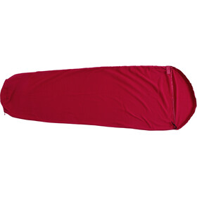 Basic Nature Fleece Sleeping Bag Liner bordeaux